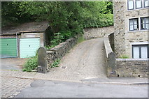 SE0724 : Junction of lane from Darcey Hey Lane by Roger Templeman