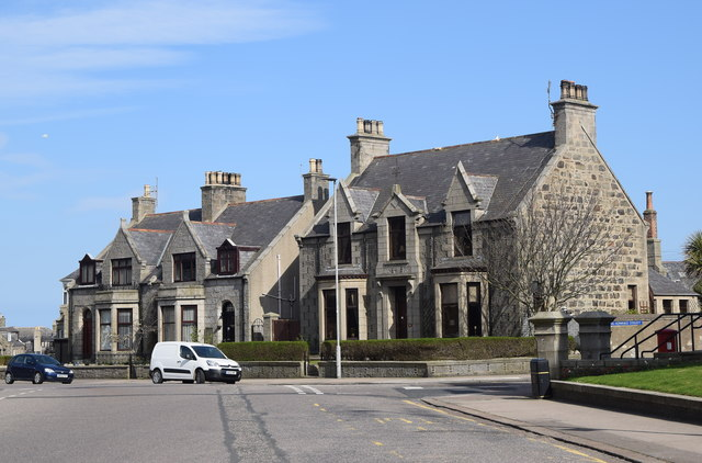 Victorian villas, the Hexagon, Fraserburgh