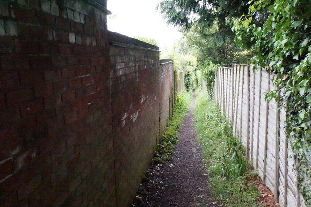 Footpath in the Battledown Estate