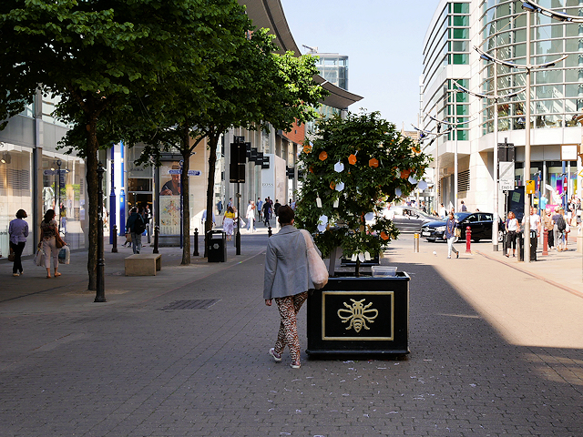 Tree of Hope, Exchange Street