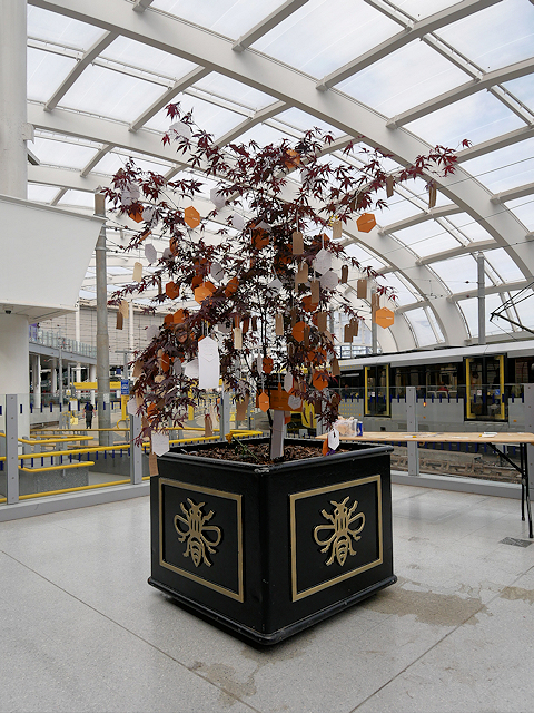Manchester Victoria Station, Tree of Hope