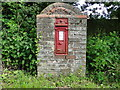 TF2155 : Victorian Post Box by Adrian S Pye