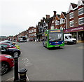 SU1869 : X22 bus for Hungerford in High Street, Marlborough by Jaggery