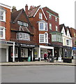 SU1869 : White Horse Bookshop, 136 High Street, Marlborough by Jaggery