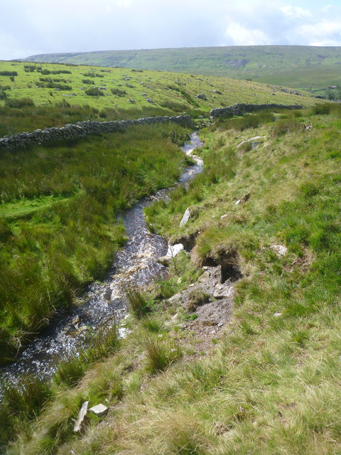 Stream flowing off Gale Head Moor