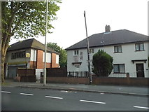 SO9491 : Houses on Priory Road, Dudley by David Howard