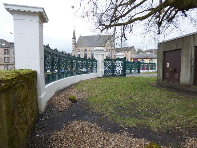Greenock Cemetery Gates renovation