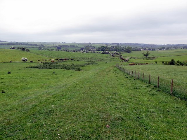 Bridleway south-west of Fawns