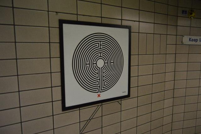 Labyrinth, Paddington Underground Station
