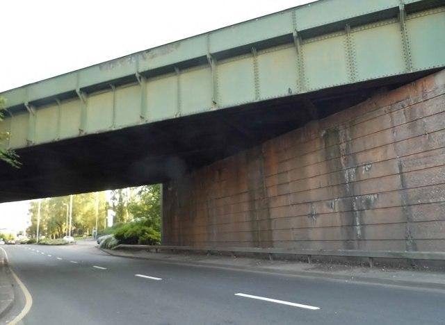Railway bridge on Stafford Road