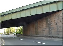 SJ9100 : Railway bridge on Stafford Road by David Howard