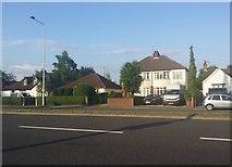 SJ9104 : Houses on Stafford Road, Coven Heath by David Howard