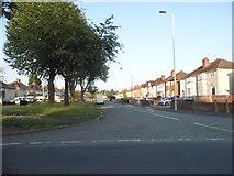 SJ9102 : Elston Hall Lane by David Howard