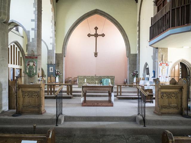 Christ Church, Waltham Cross - Chancel
