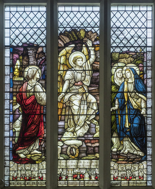 Christ Church, Waltham Cross - Stained glass window