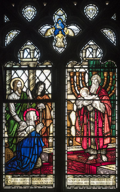 Christ Church, Waltham Cross - Stained glass window