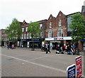 SU4767 : HSBC UK Newbury by Jaggery