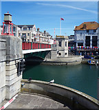 SY6778 : Town Bridge, Weymouth by Des Blenkinsopp