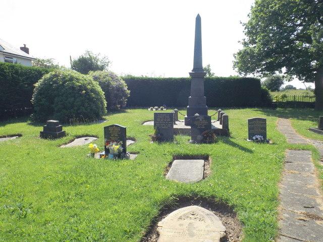 Graveyard at Thomas Bateman chapel