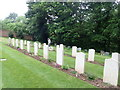SE5159 : Tending the War Graves, All Saints Church by Eirian Evans