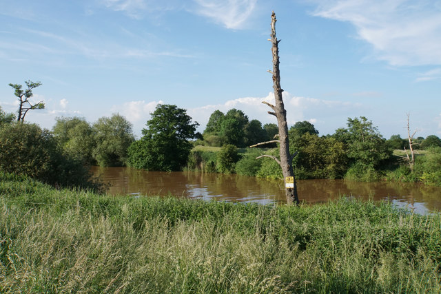 Private fishing by the River Severn