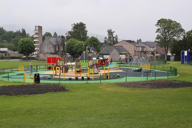 The Rowan Boland Play Park at Galashiels