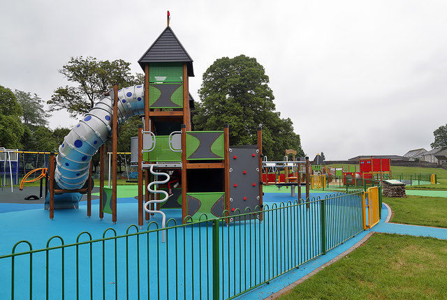The Rowan Boland Play Park at Galashiels