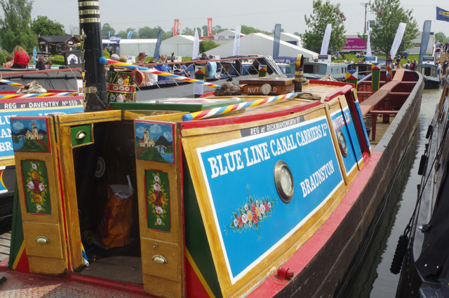 'Nutfield' at Crick Boat Show