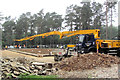 SP8808 : Laying the Concrete Floor of the New Cafe in Wendover Woods (2) by Chris Reynolds