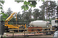SP8808 : Laying the Concrete Floor of the New Cafe in Wendover Woods (4) by Chris Reynolds