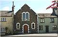 SS4518 : Former chapel, Frithelstock Stone by Derek Harper