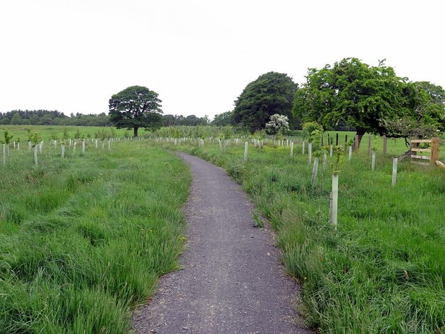Cycle path, Upper Black Bell