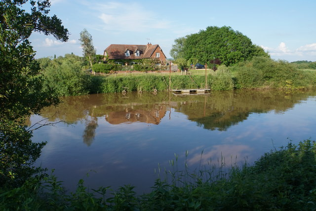 House by the River Severn