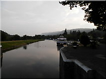 NH6140 : Caledonian Canal at Dochgarroch by Douglas Nelson