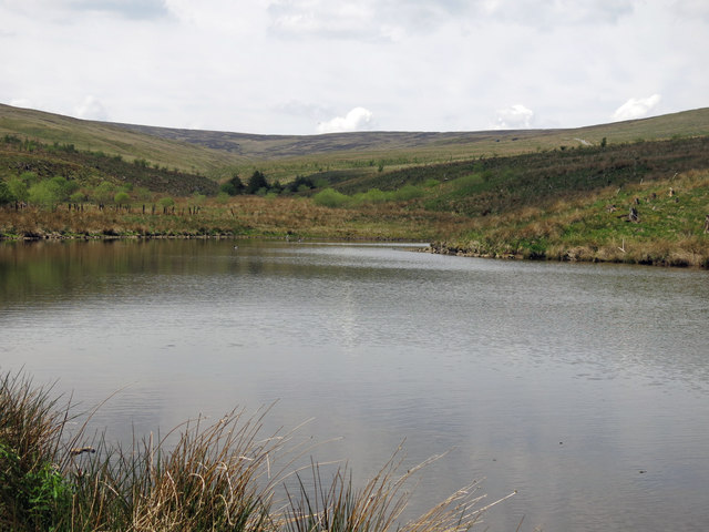 Artificial lake at Well Hope (3)