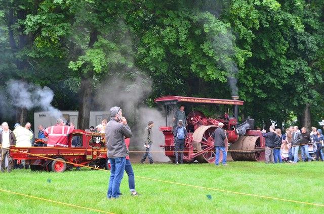 Steam vehicles, Thirlstane Castle Lauder