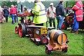 NT5348 : Model traction engine, Thirlstane Castle by Jim Barton