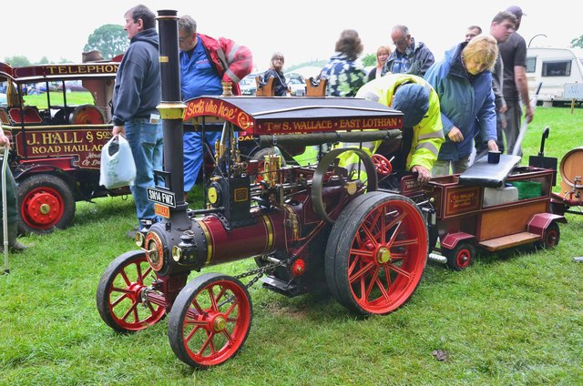 Traction engine 'Wally', Thirlstane Castle