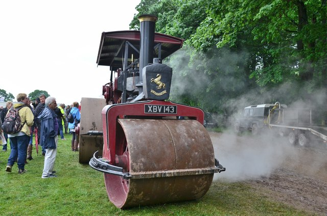 Invicta steamroller, Thirlstane Castle