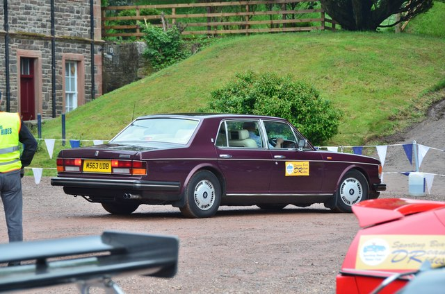 Rolls-Royce Flying Spur, Thirlstane Castle