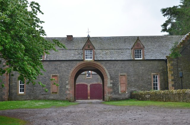 Stable block at Thirlstane Castle