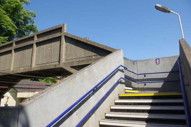 Footbridge - Alderley Edge Station
