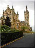 NS5666 : Gilbert Scott Building, University of Glasgow by Richard Sutcliffe