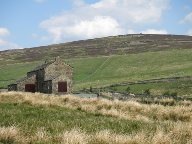 The Killhope valley around High Byre