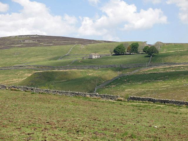 The Killhope valley below Slit Foot