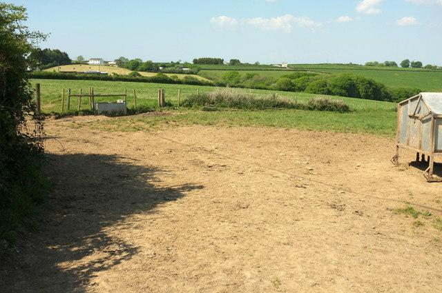 Farmland near Wonders Corner