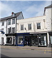 SO5012 : Cancer Research UK shop, Agincourt Square, Monmouth by Jaggery