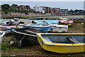 SU7405 : Dinghies at Emsworth by David Martin