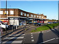 SP0879 : Shops by the Yardley Wood Road / School Road roundabout by Richard Law