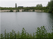 TL4857 : Romsey Lakes by Keith Edkins